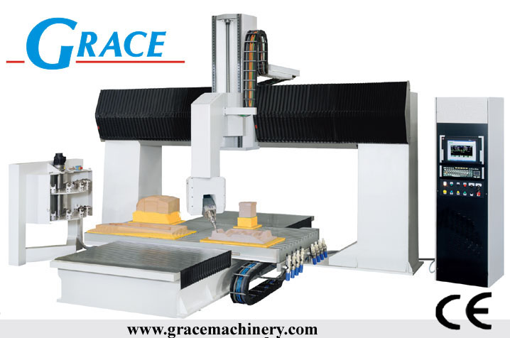 wood cnc router 5 axis milling machine G1224