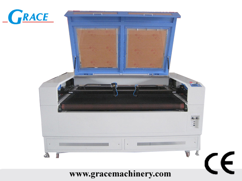 CO2 Laser cutting machine G1610 with Auto feeding function