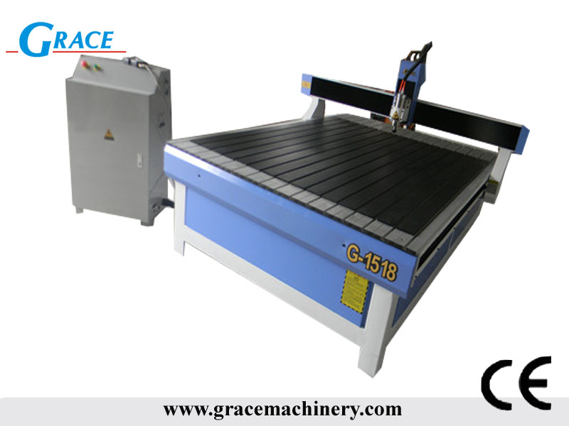 2.2kw water cooling spindle cnc router advertising machine G1518