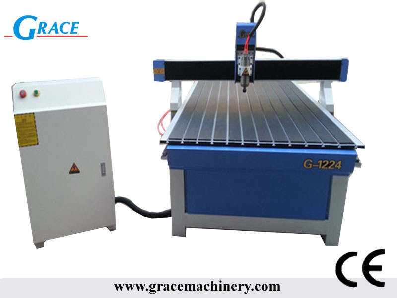 4 8 feet Advertising Engraving Cutting CNC Router G1224