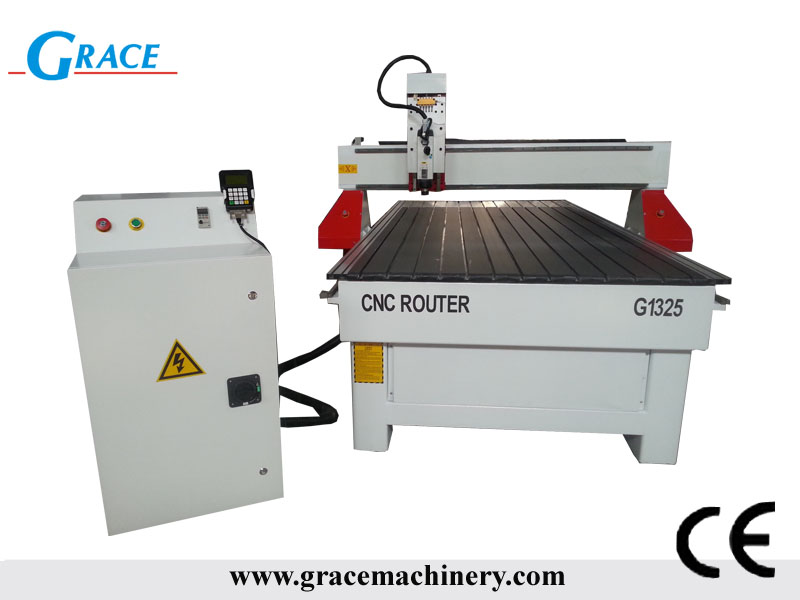 MDF and Plywood cutting cnc router with 3kw HSD spindle G1325