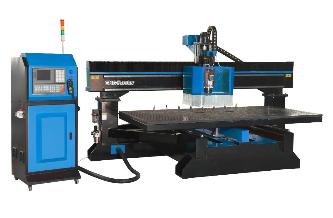Linear type table move Auto tool changing CNC router G1325