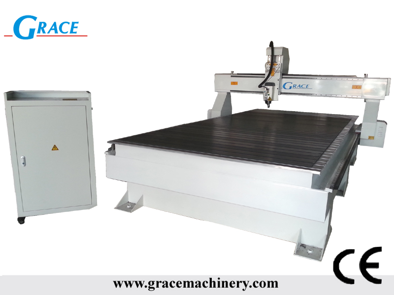 G1530 CNC router Italian air cooled spindle without vacuum system